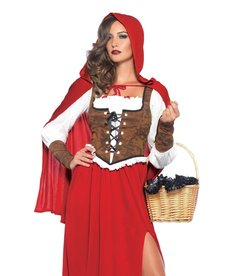 Leg Avenue Women's Woodland Red Riding Hood Costume