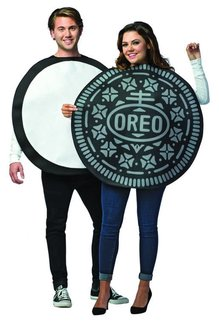 Adult Oreo Cookie Couples Costume