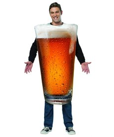 Adult Beer Glass/Pint Costume