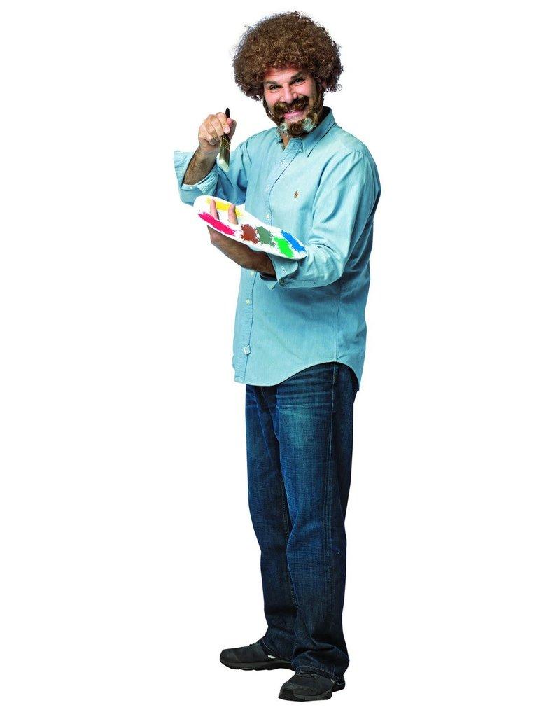Adult Bob Ross Costume Kit