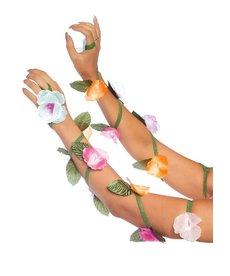 Leg Avenue Flower Arm Wraps