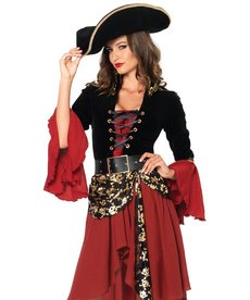 Leg Avenue Women's Cruel Seas Captain Costume