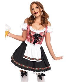 Leg Avenue Women's Beer Garden Babe Costume
