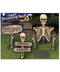 Haunted Lawn Decor Set