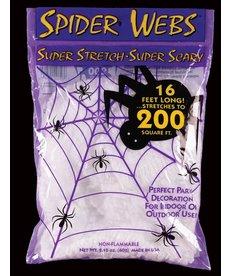 Fun World Costumes Spider Web - 200 sq. ft./16' Long