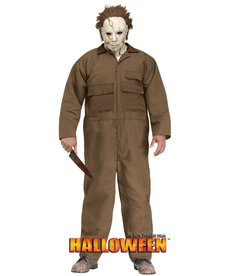 Fun World Costumes Men's Plus Size Michael Myers™ Costume (Rob Zombie's HALLOWEEN)