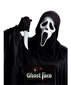 Fun World Costumes Ghost Face® Mask w/ Knife