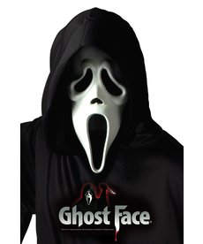 Fun World Costumes Ghost Face® Mask w/ Shroud (Scream)