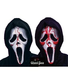 Fun World Costumes Dripping Bleeding Ghost Face® Mask