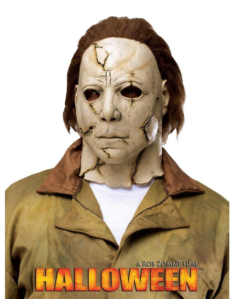 Johnnie Brocks Halloween 2020 Michael Myers Mask Michael Myers™ Mask   Rob Zombie's Halloween (Cracked & Distressed