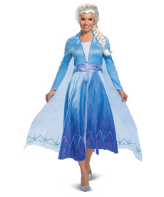 Disguise Costumes Women's Deluxe Elsa Costume