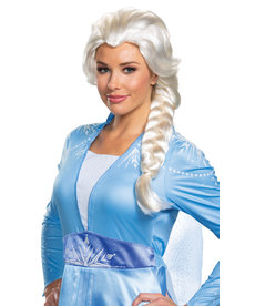 Disguise Costumes Elsa Wig: Adult