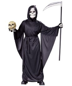 Fun World Costumes Child Fancy Grim Reaper Robe