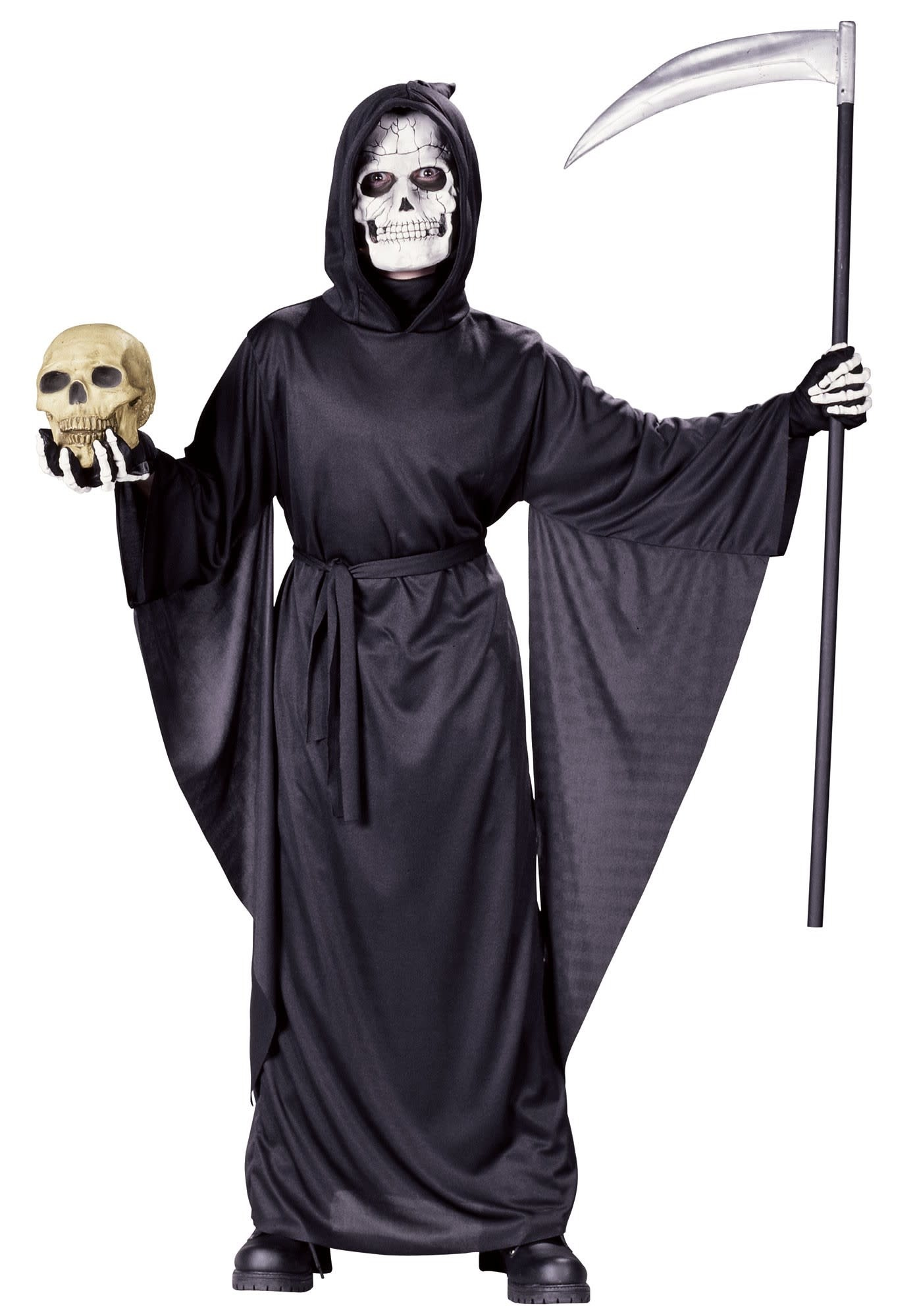 Fancy Grim Reaper Robe Johnnie Brocks Dungeon