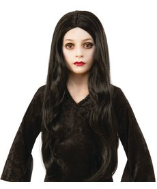 Rubies Costumes Kids Morticia Addams Wig (The Addams Family Animated Movie)