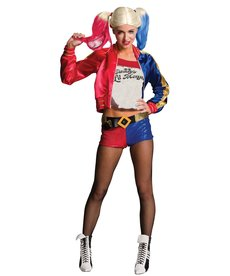 Rubies Costumes Women's Harley Quinn Costume (Suicide Squad)