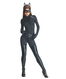 Women's Deluxe Catwoman Costume (Dark Knight Trilogy)