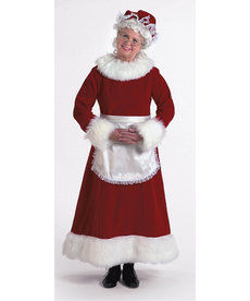 Halco Holidays Burgundy Velvet Mrs. Claus