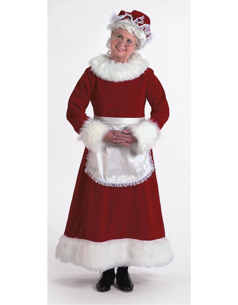 Halco Holidays Burgundy Velvet Mrs. Claus