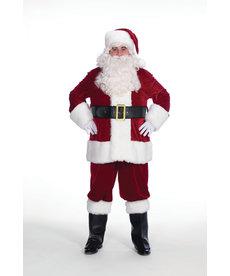 Halco Holidays Velveteen Santa Claus Suit