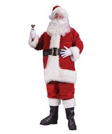 Fun World Costumes Regency Plush Red Santa Suit