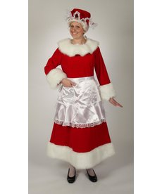 Halco Holidays Regal Red Velvet Mrs. Claus