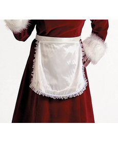 Halco Holidays Mrs. Claus Deluxe Satin Apron