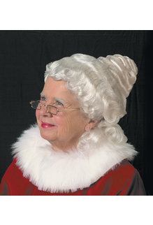Halco Holidays Beautiful Mrs. Claus Wig
