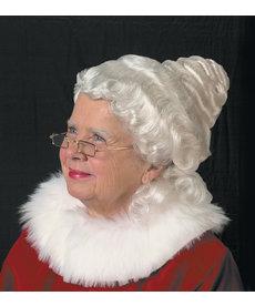 Halco Holidays Beautiful Mrs. Claus Wig