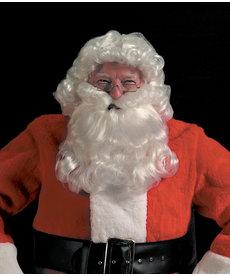 Halco Holidays Deluxe Santa Curly Wig & Beard Set