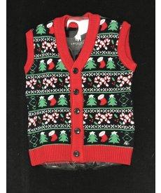Women's Sweater Vest: Sleigh All Day