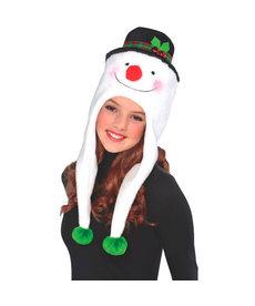 Snowman Laplander Hat