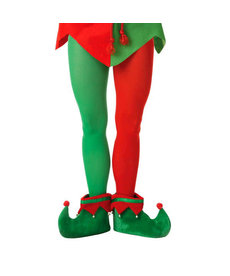 Christmas Elf Tights: Plus