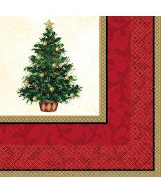 Luncheon Napkins: Classic Christmas Tree (16ct.)