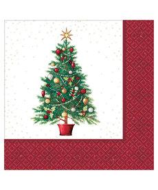 Beverage Napkins: Oh Christmas Tree (125ct.)