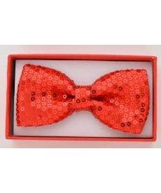 Sequin Red Bowtie Kids