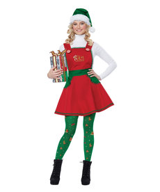 California Costumes Women's Elf In Charge