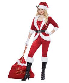 California Costumes Women's Sassy Santa