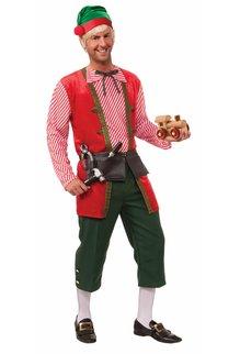 Adult Toy Maker Christmas Elf Costume