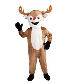 Deluxe Adult Mascot Reindeer