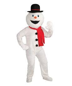 Deluxe Adult Snowman Mascot