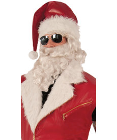 Adult Leather Santa Hat