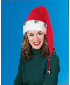 Rubies Costumes Extra Long Santa Christmas Hat with Bells