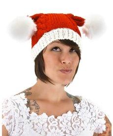 elope elope Santa Knit Christmas Hat