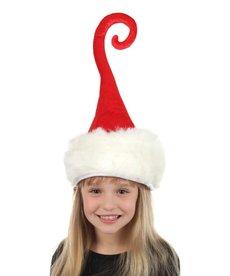 elope Curly Q Santa Plush Hat
