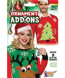 Ugly Sweater Add-On Ornaments (9pk.)