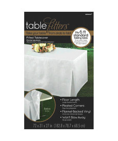 Tablefitters™ Flannel-Backed Table Covers