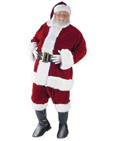 Fun World Costumes Ultra Velvet Santa Suit