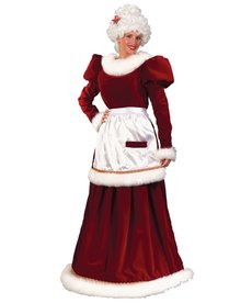 Fun World Costumes Ultra Velvet Mrs. Claus