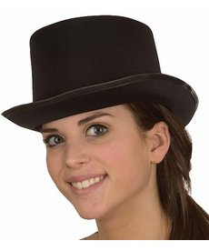 Silk Top Hat: Black